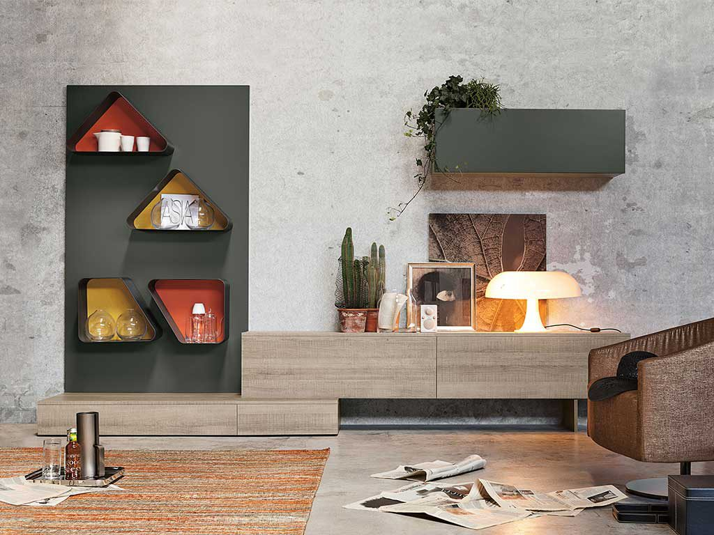 Arredo a colori la casa in ordine for Librerie metalliche design
