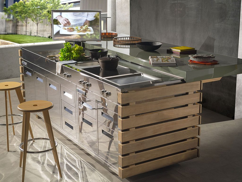 Stunning Cucine Free Standing Contemporary - Amazing House Design ...