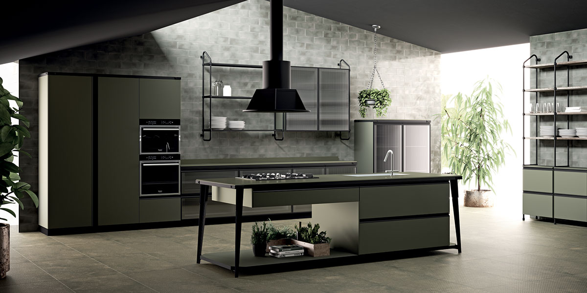 Stunning Cucina Con L Isola Contemporary Home Interior