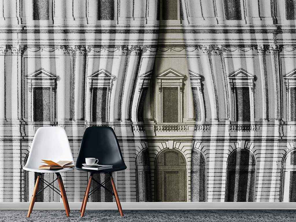 wallpaper design living