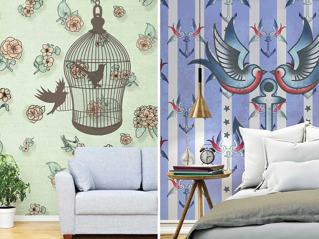wallpaper design casa