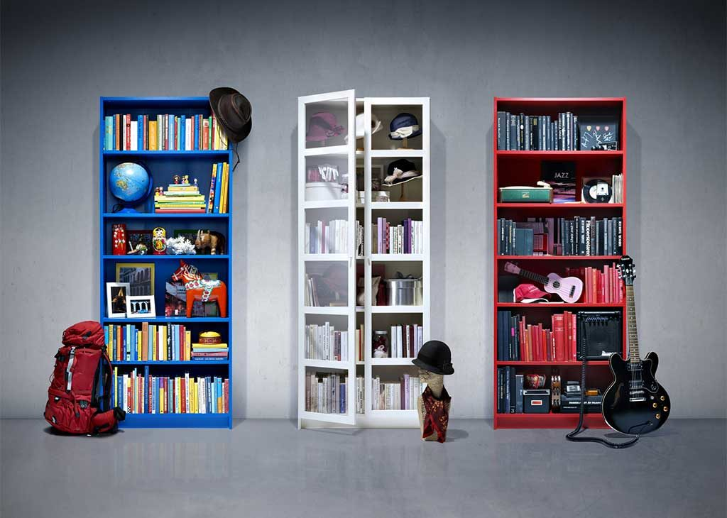 librerie billy colorate ikea