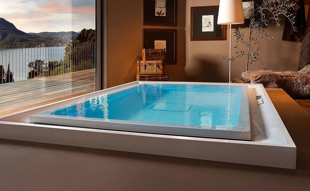 piscina da interno living