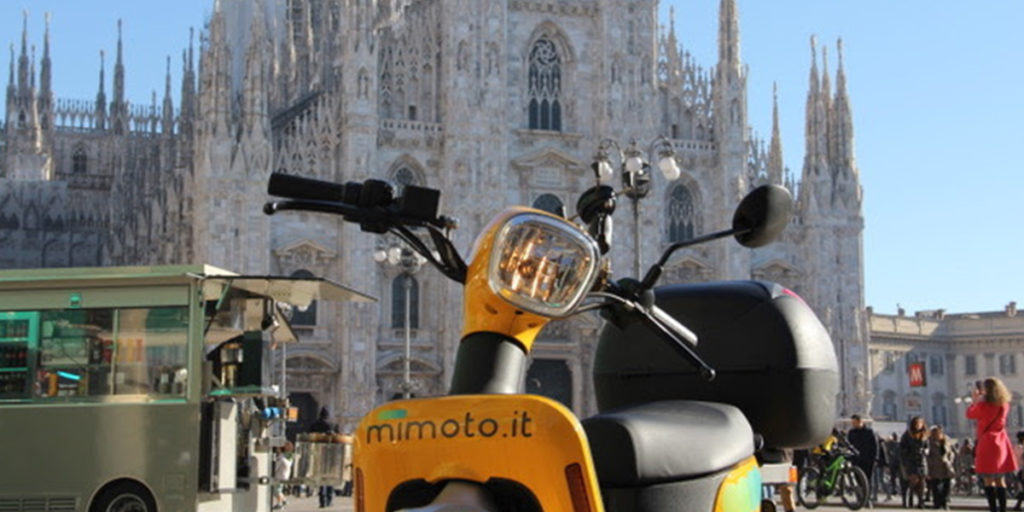 scooter elettrico milano sharing