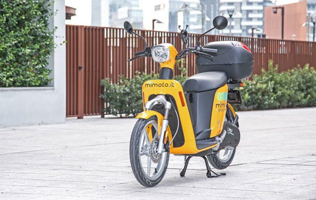scooter elettrico sharing milano