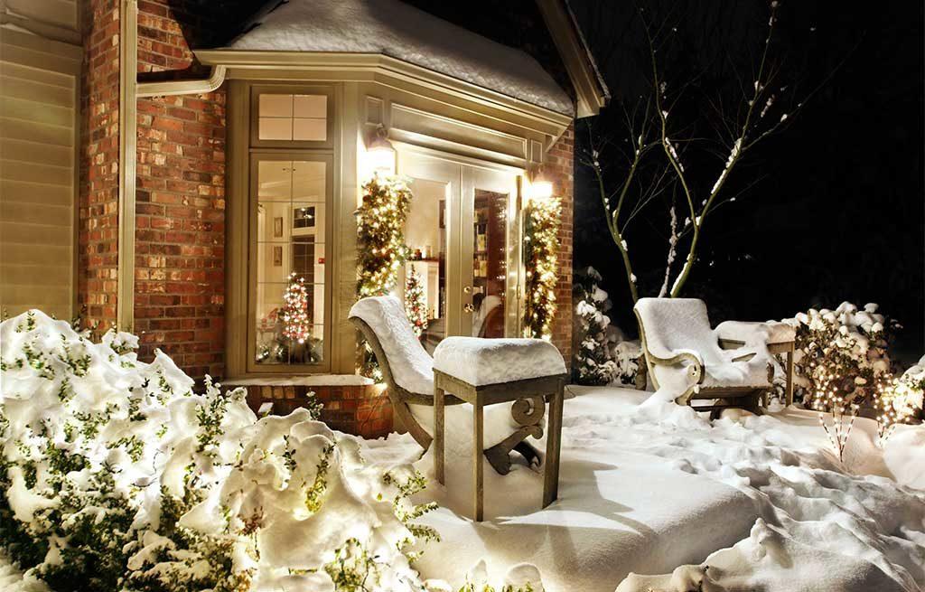 neve esterno casa natale