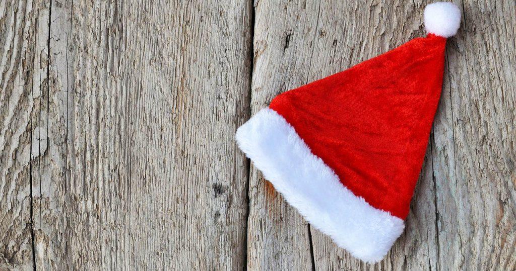 Natale cappello babbo
