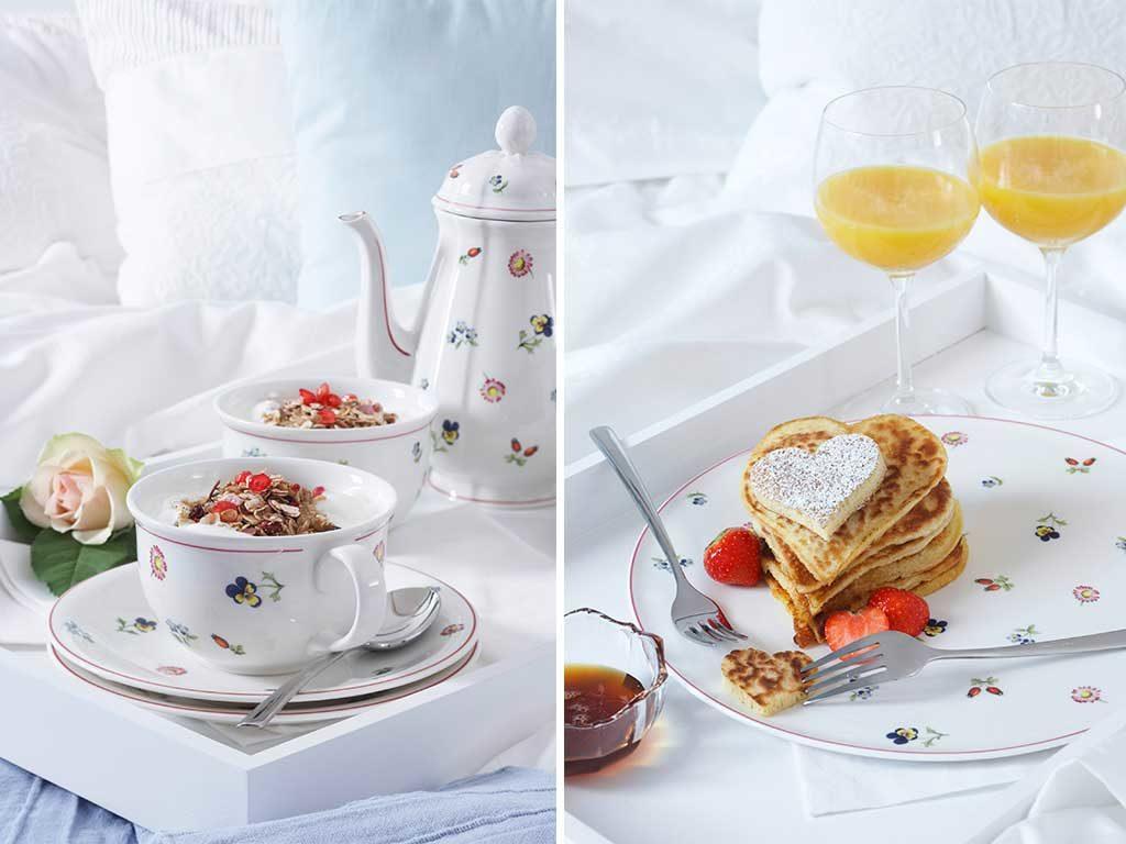 vassoio letto colazione