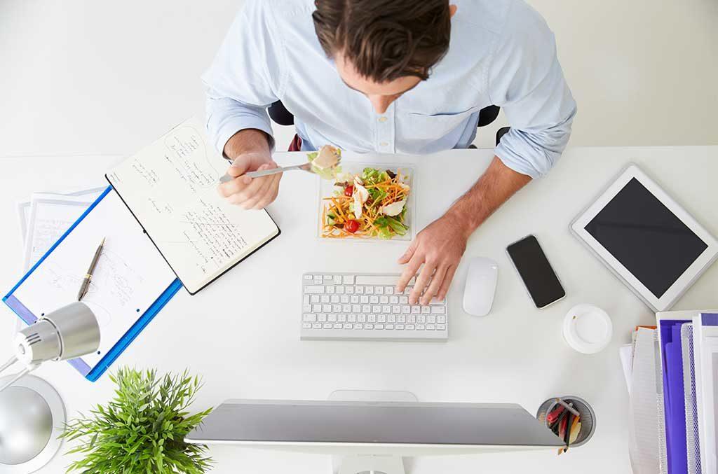 pausa pranzo ufficio