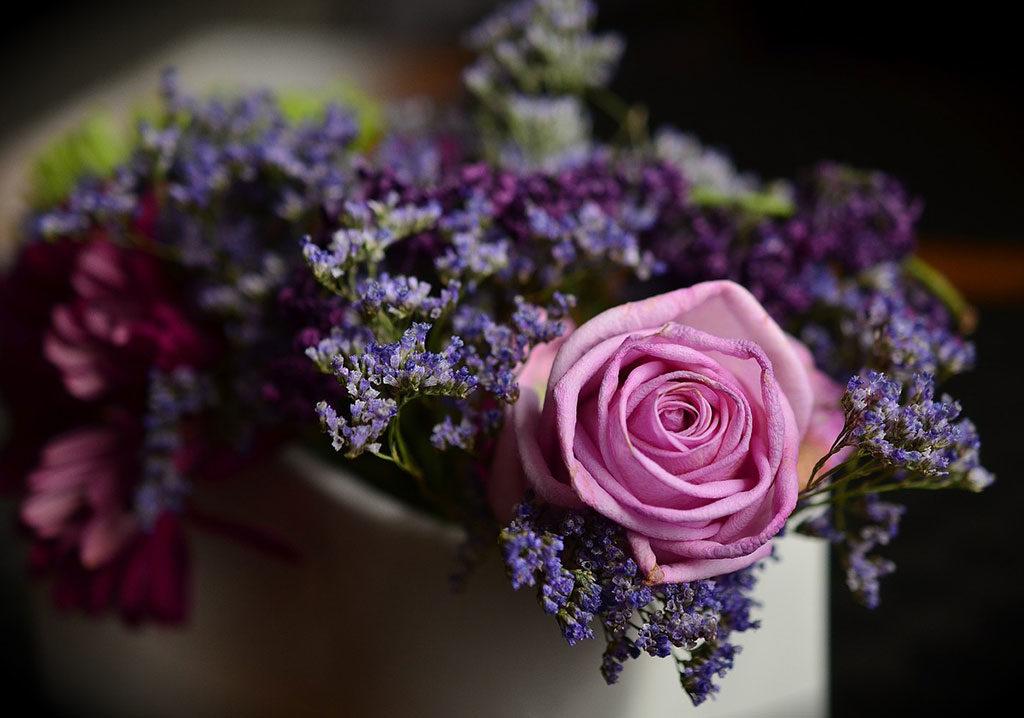 mazzo fiori e rose