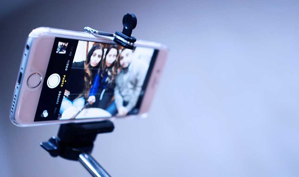 asta selfie smartphone