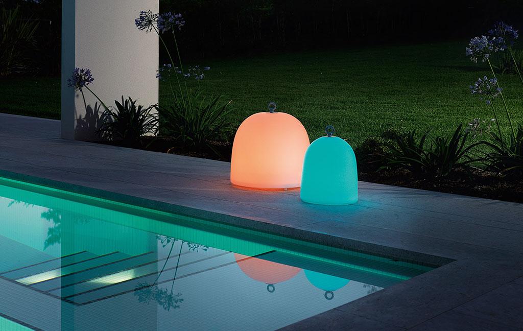 lampade da esterno colorate