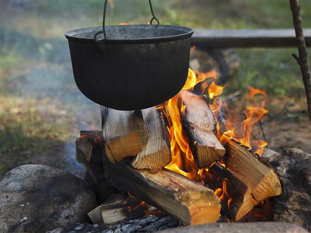 cottura cibo fuoco