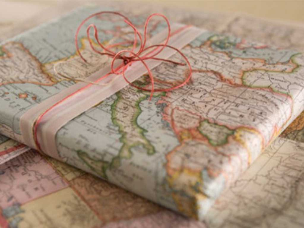 carta regalo geografica