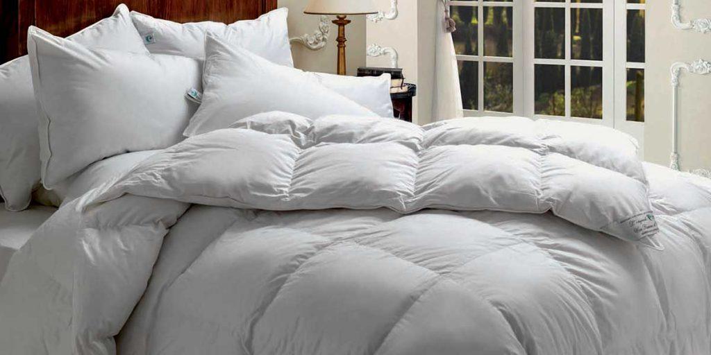 piumino camera da letto