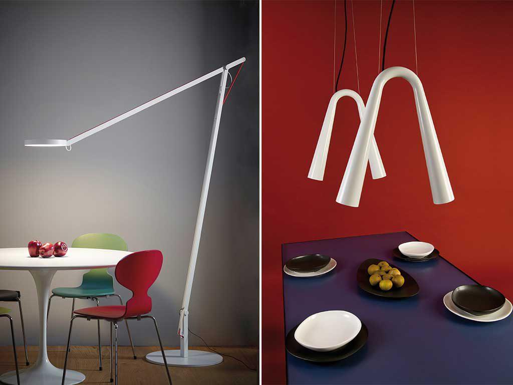tavolo da pranzo giusta illuminazione