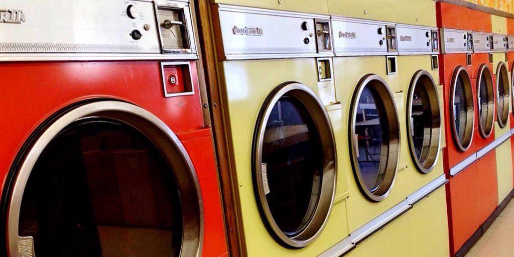 bucato in lavanderia