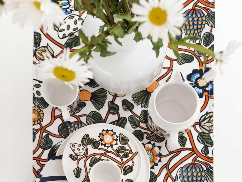 decorazioni floreali tavola