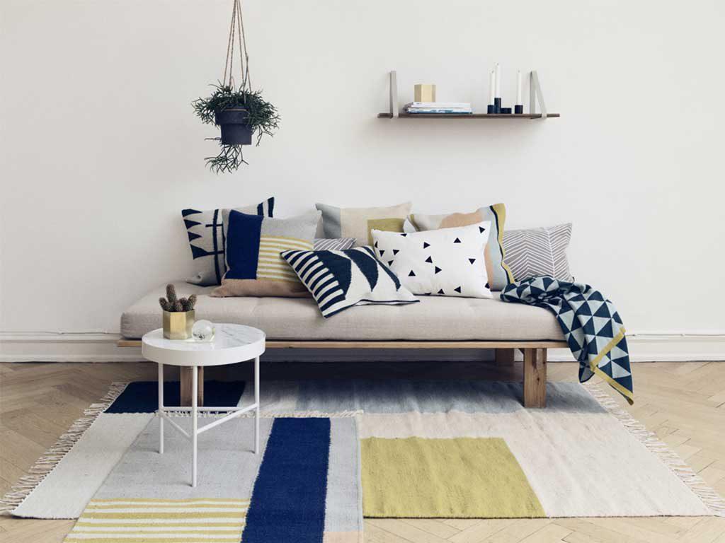soggiorno in stile nordico