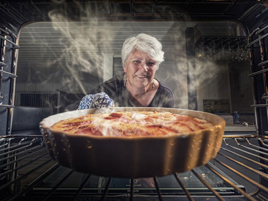 torta mele forno