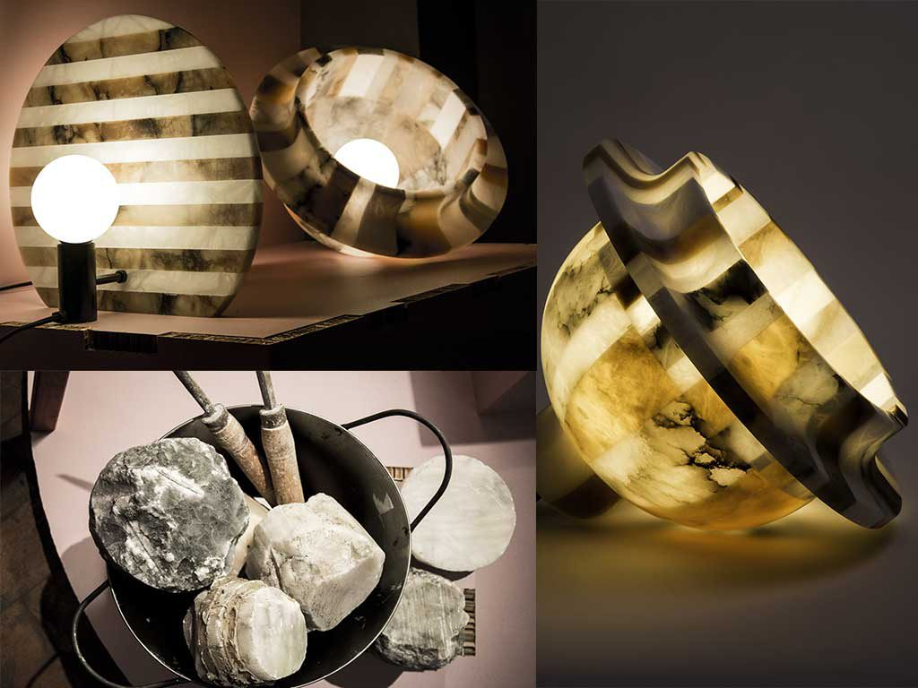 lampada alabastro