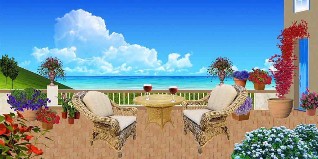 pranzo terrazzo