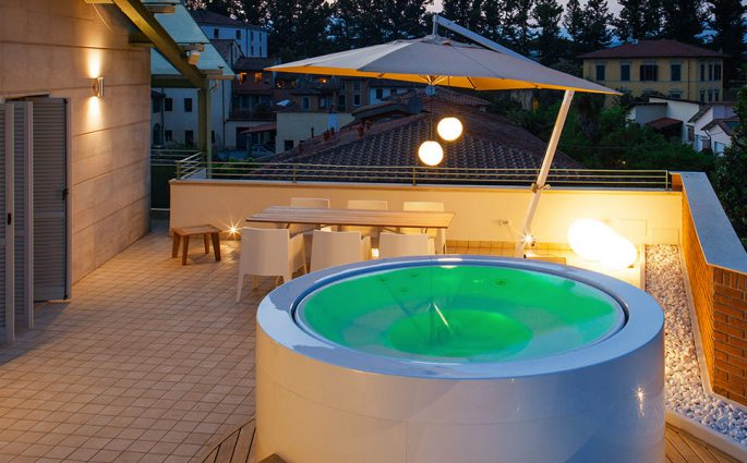 canticle terrazzo piscina