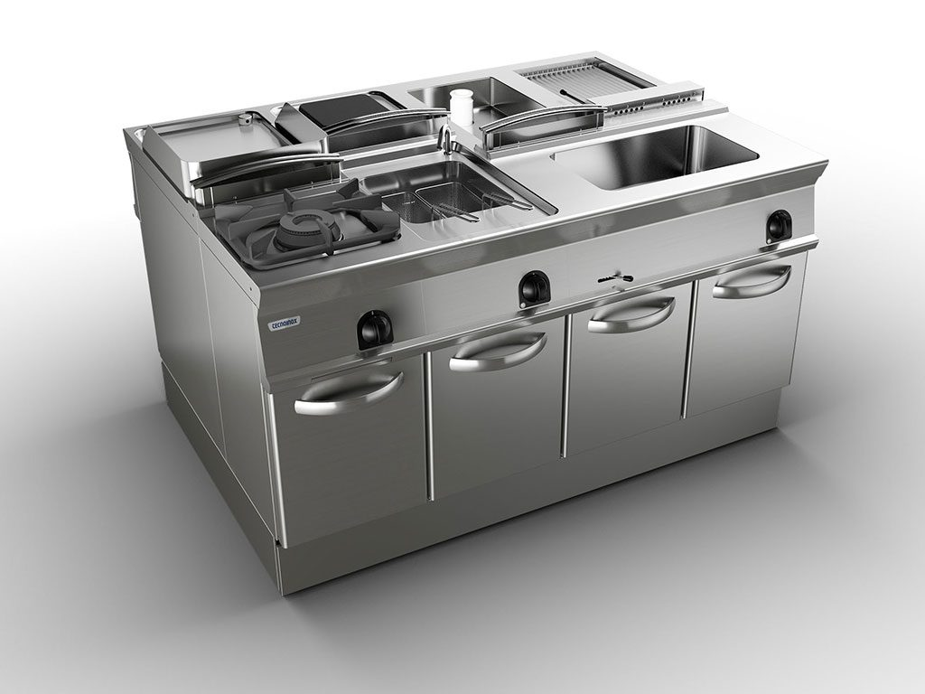 cucina freestanding tecnoinox