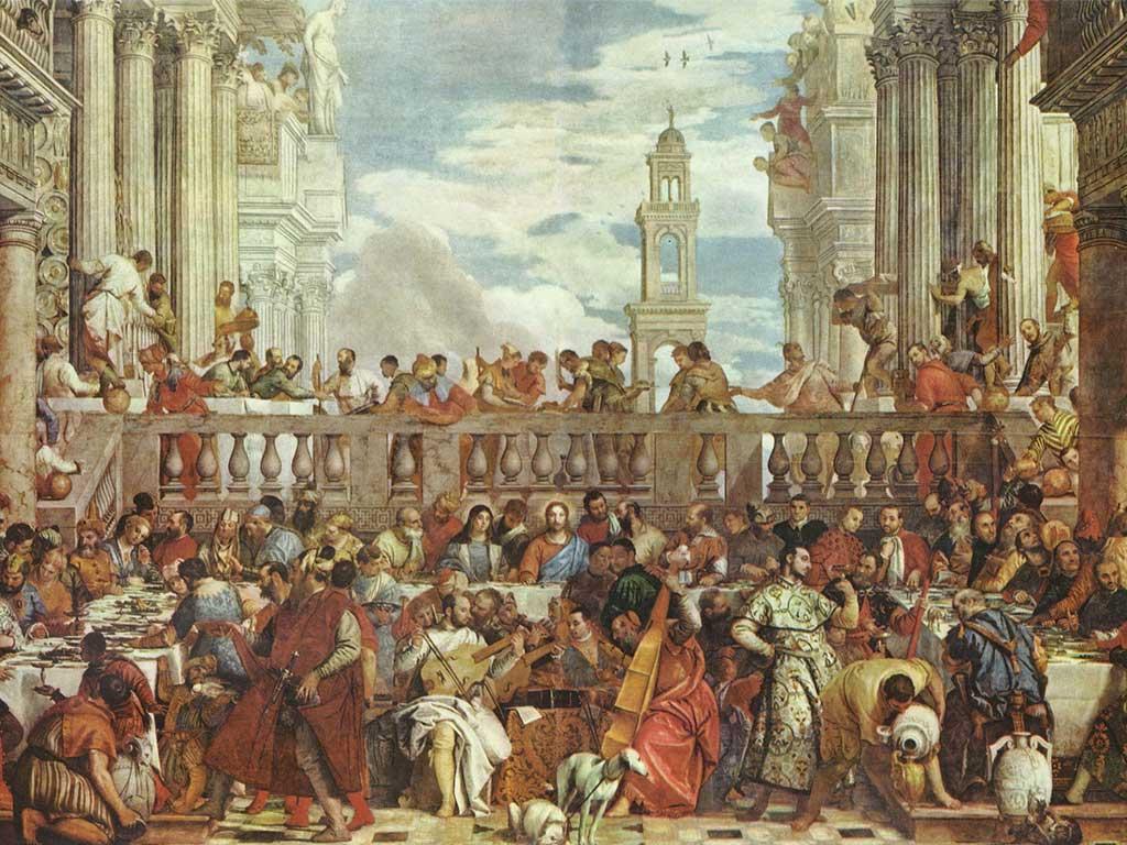 le nozze di canaa dipinto francia