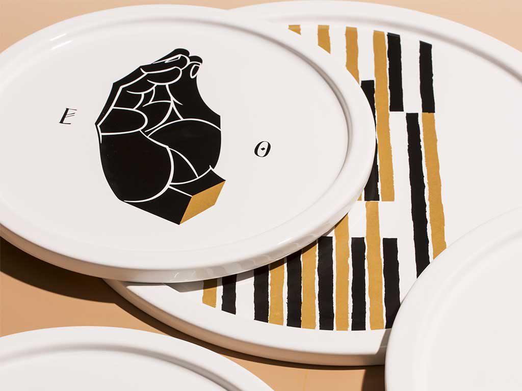 piatti porcellana decorati