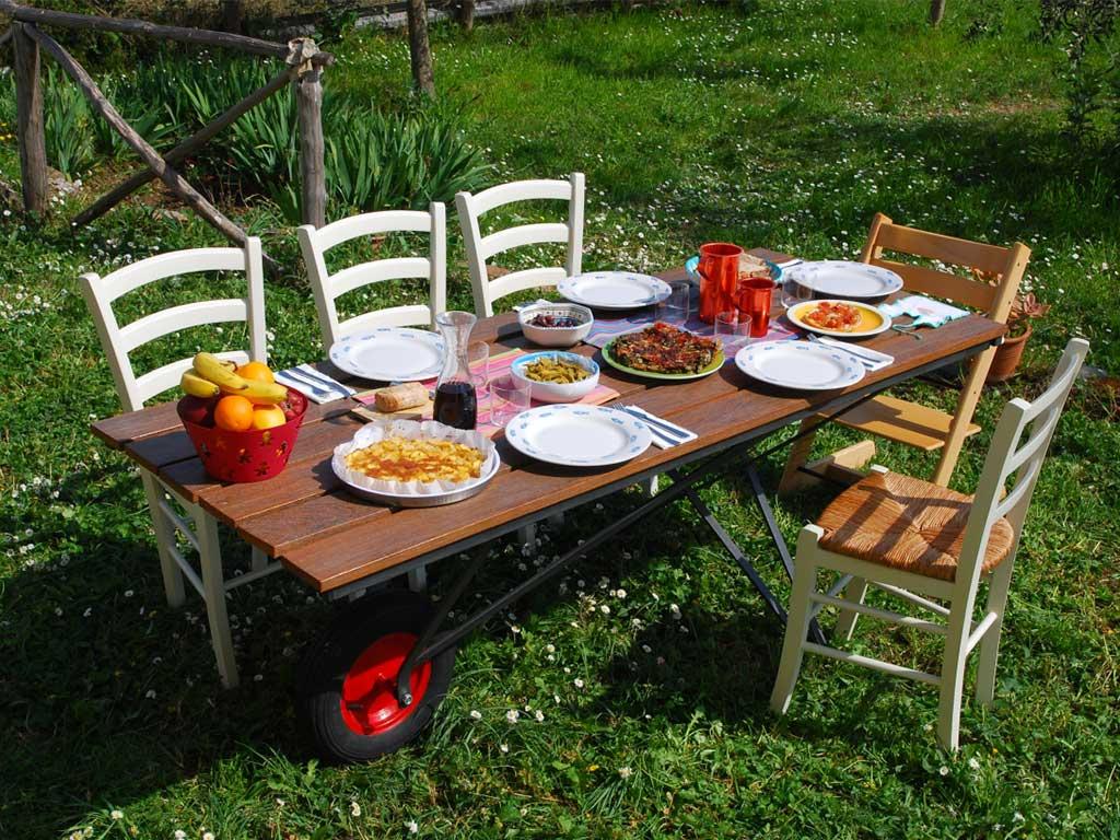 tavolo esterno ruota