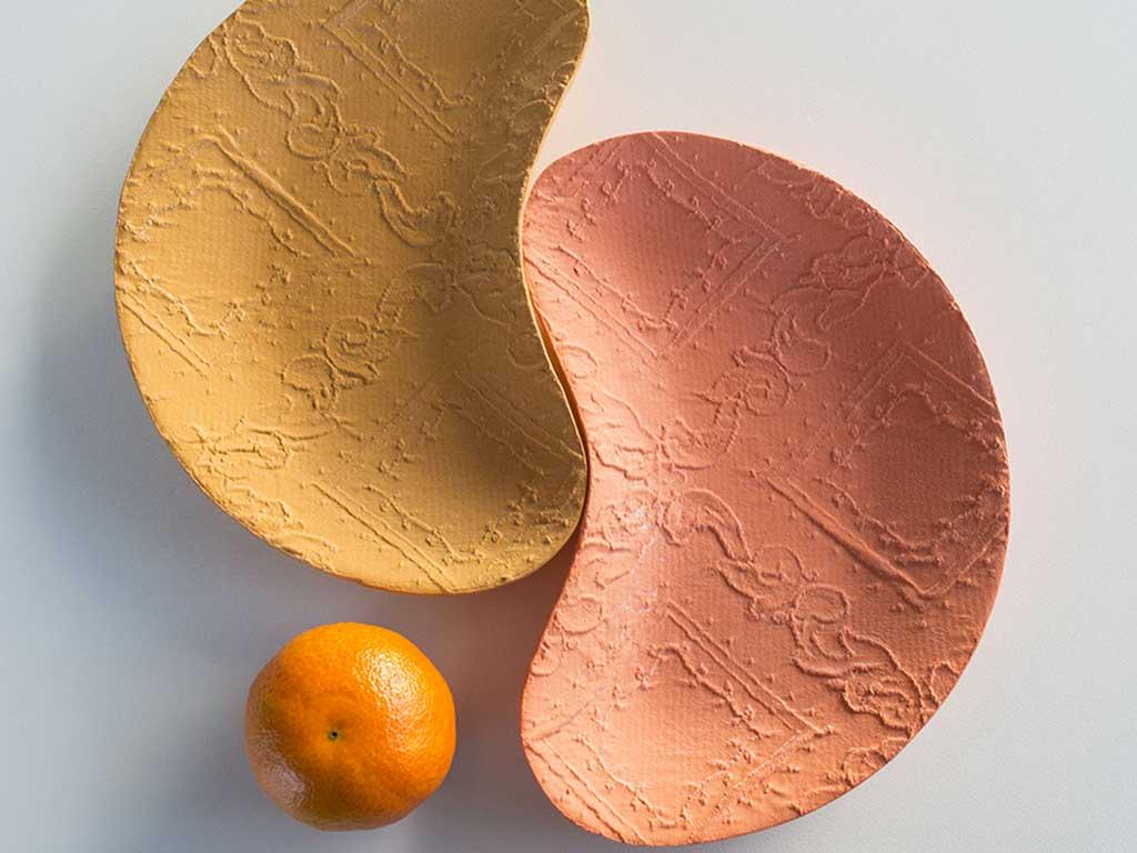 ceramica effetto stoffa