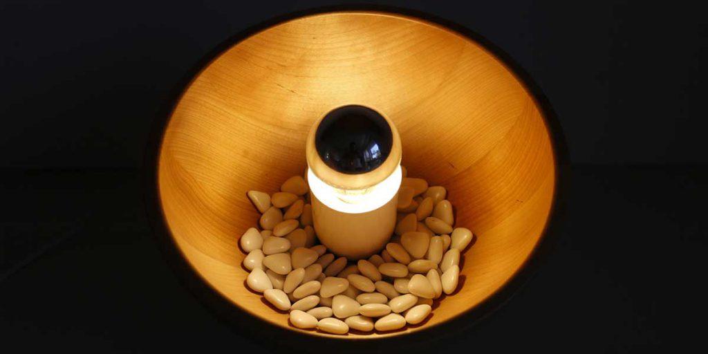 lampada svuotatasche