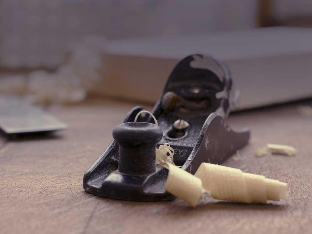 pialletto per il legno con trucioli