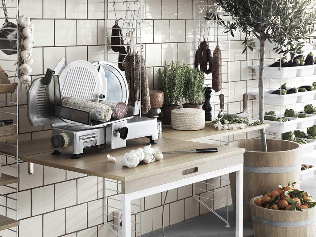 mensola scaffale cucina