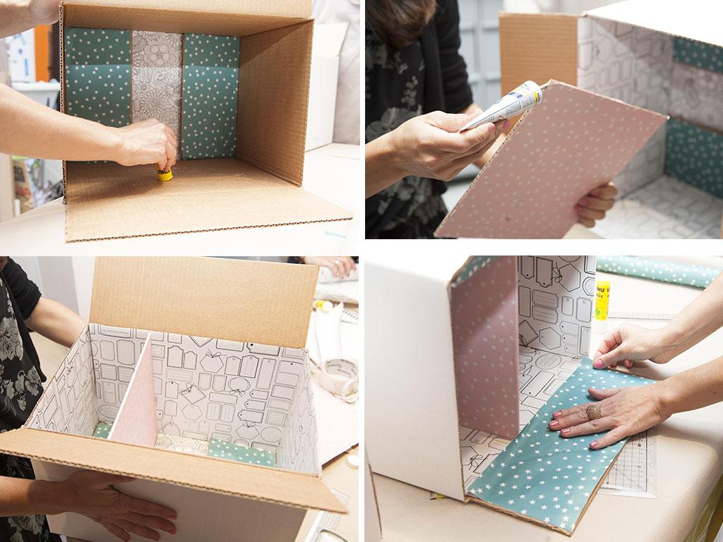 riciclo cartone scatola