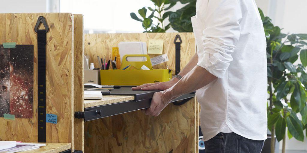 scrivania trasformabile