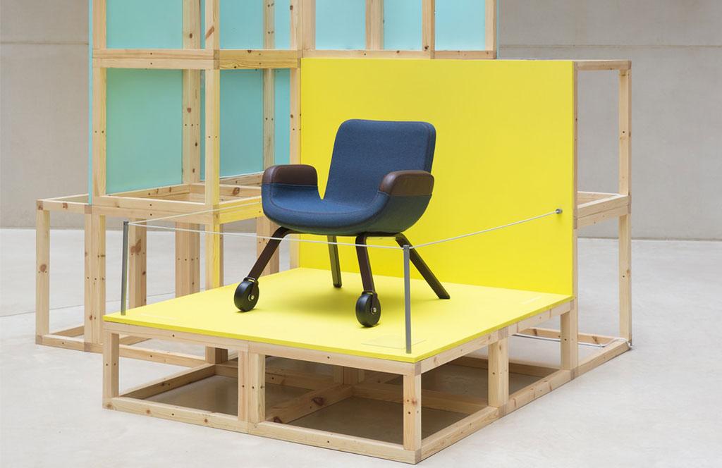 esposizione sedia london design