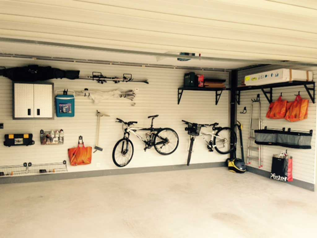 parete attrezzata garage