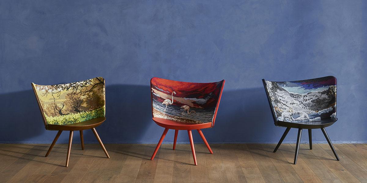 Le quattro stagioni sedute cappellini la casa in ordine for Sedia design svedese