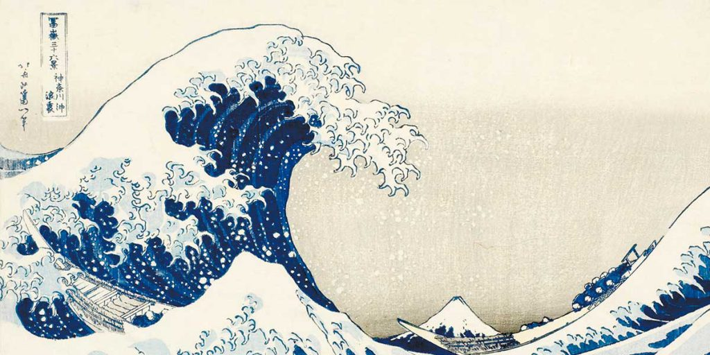 hokusai giappone