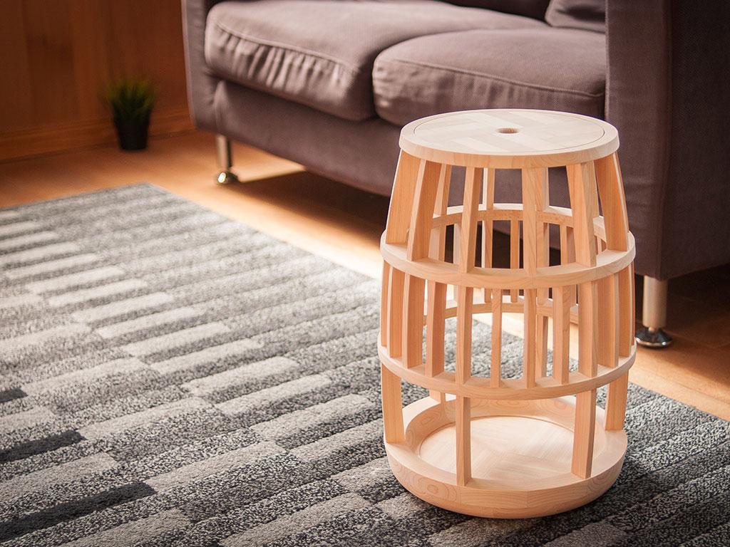 tavolino sgabello design