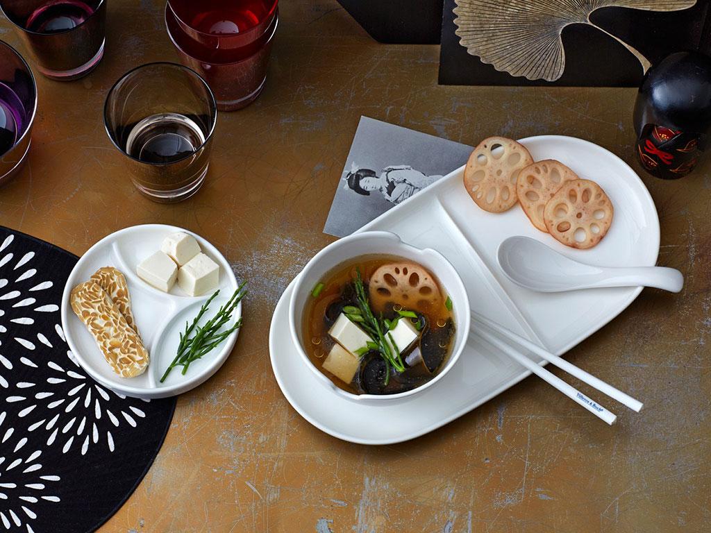 zuppa tavola tableware