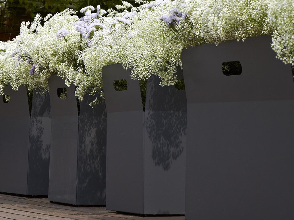 contenitore vasi piante casa