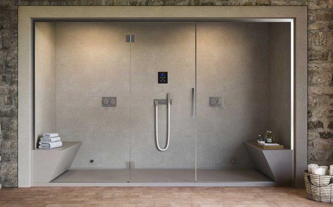 doccia sauna casa