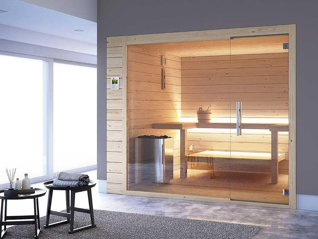 sauna casa