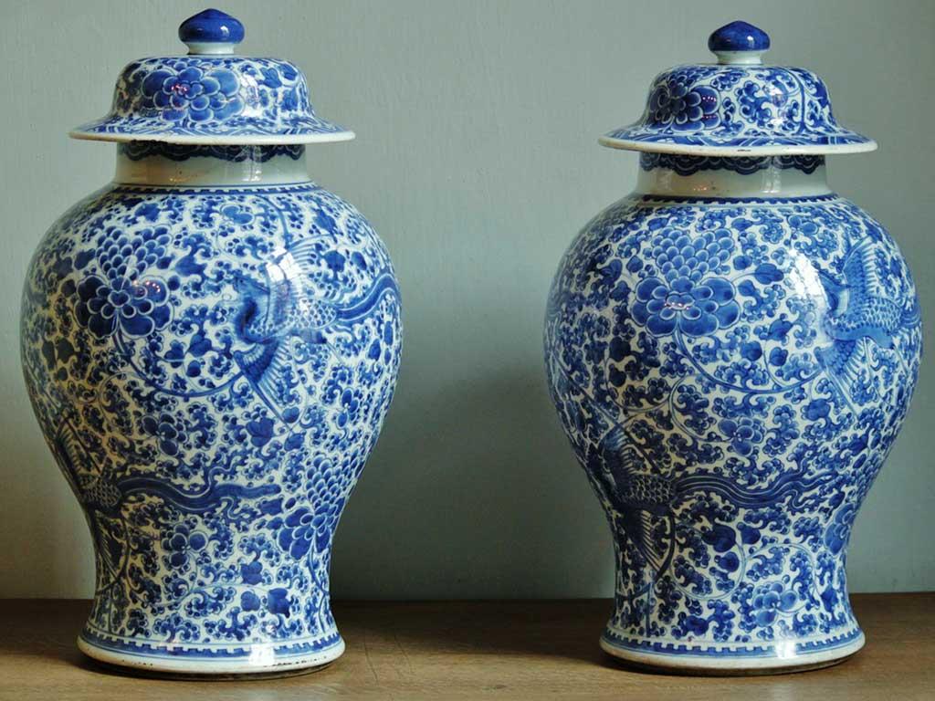 vaso ming riproduzione