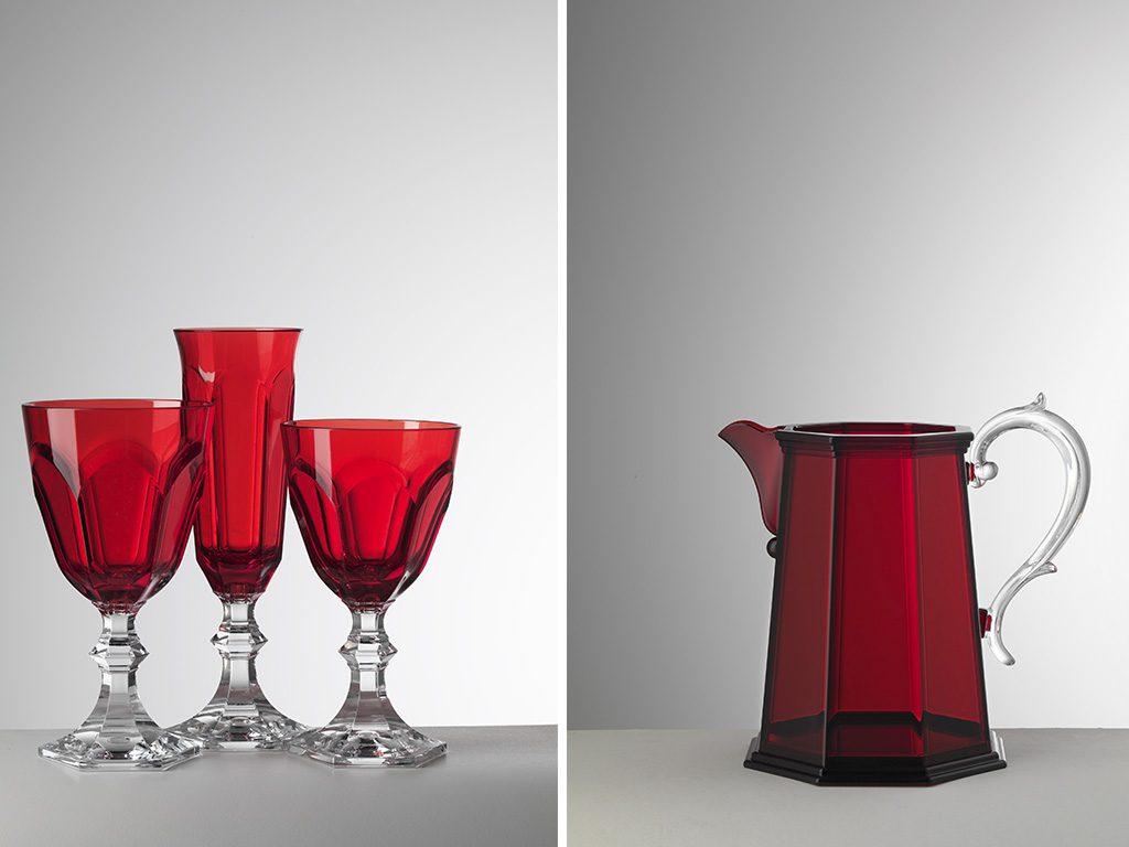bicchieri tavola natale