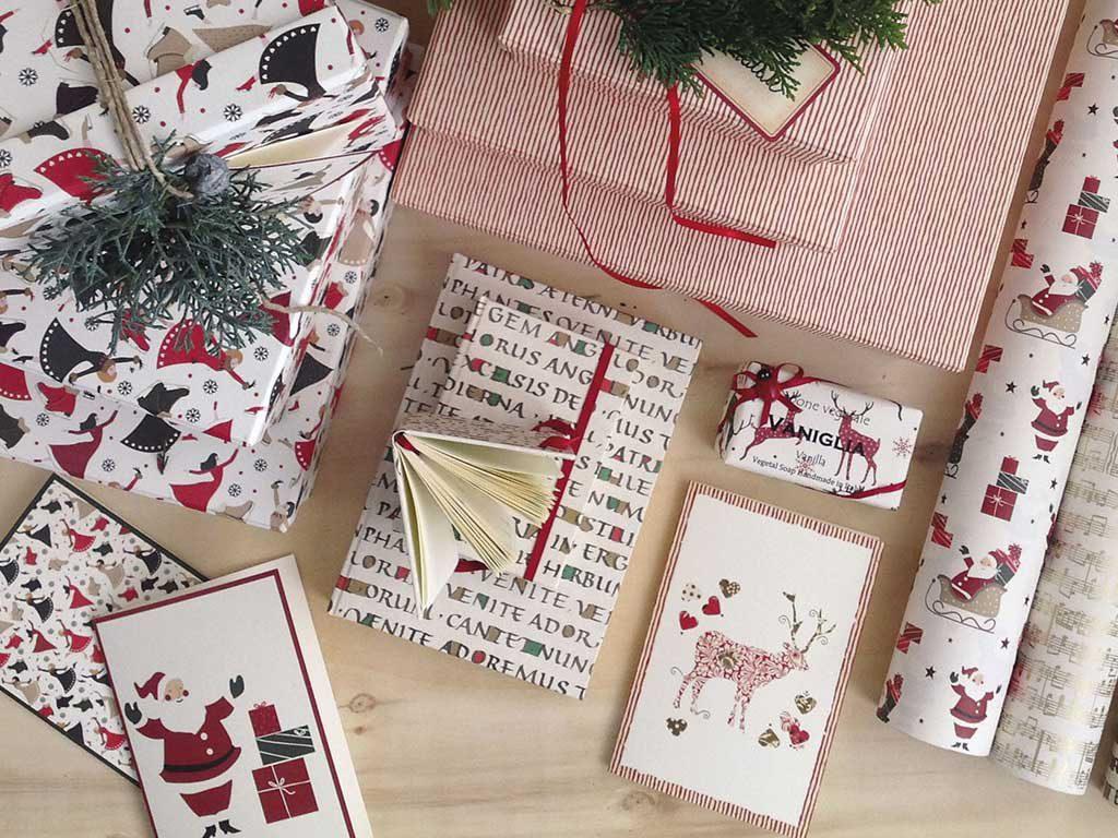 carta regalo natale idee