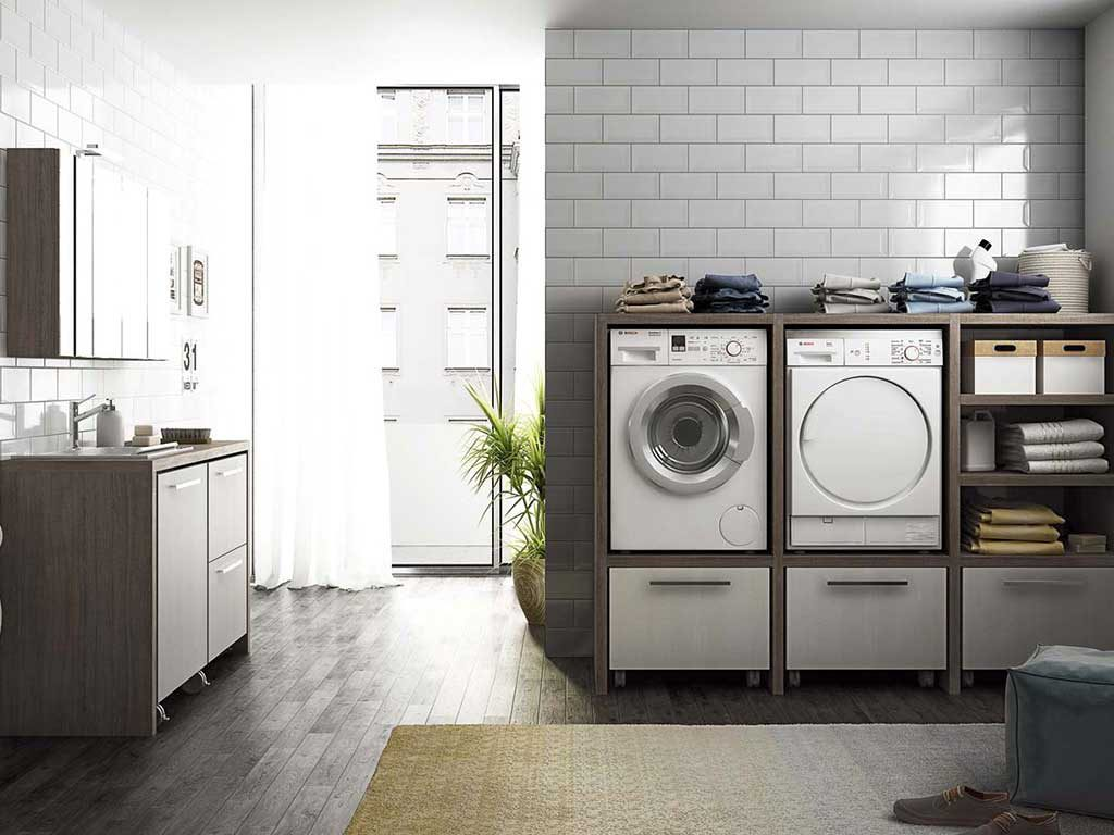 lavanderia legno